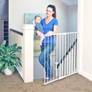 best baby gates for wide opening