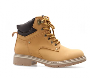 Leather Combat Boots With Great Durability